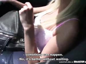 Блондинку Лизу уговорили на секс за деньги