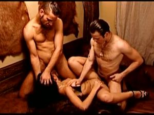Групповой анальный секс с Еленой Берковой