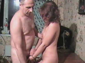 Русская пара и ее семейный секс