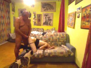 Проститутка обслужила клиента на скрытую камеру