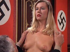 Оргия с красивыми блондинками в Гестапо