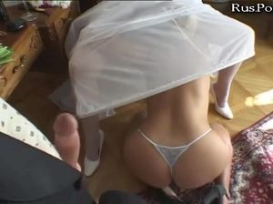 Подружка устроила отменный секс невесте и ее жениху