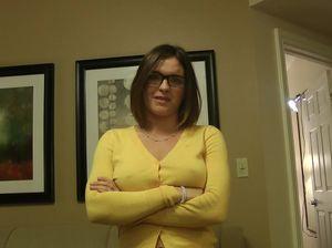 Жена в очках сделала мужу приятное