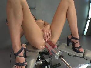 Секс машины жесткий трах