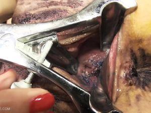 Брюнетки засовывают набор фломастеров в пизду