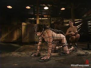 Две извращенки забавляются в амбаре