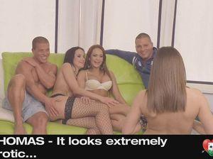 Чешские свингеры устроили групповую секс вечеринку