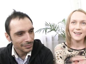 Красивый секс на приватном кастинге с обычной русской девушкой