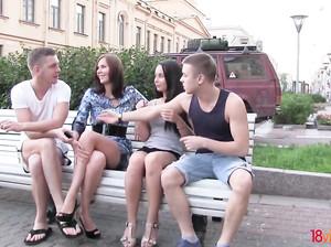 Секс оргия русских студентов с телками