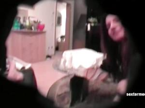 Реальный секс на камеру с молодой сучкой