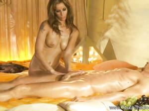 Секс массаж от прекрасной девушки
